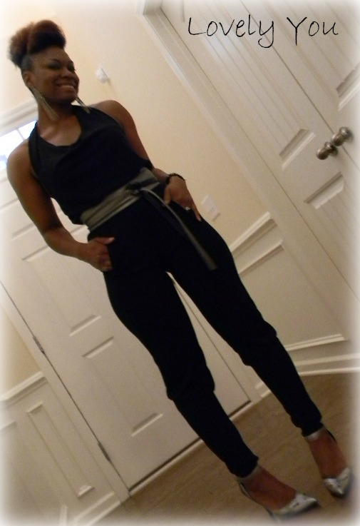 The Black Jumpsuit Lovely You Blog